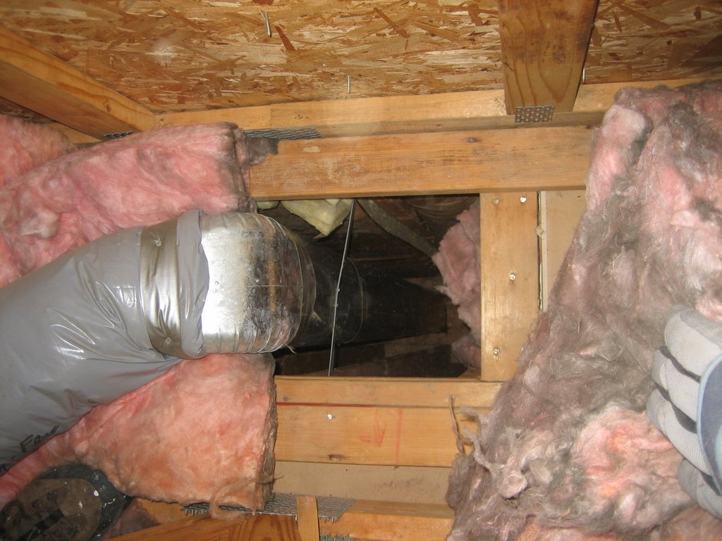 What does it mean if your fiberglass insulation is black? Ted's  #764929