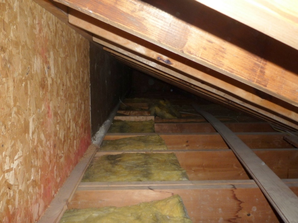 Insulating Walk In Attics Ted S Energy Tips