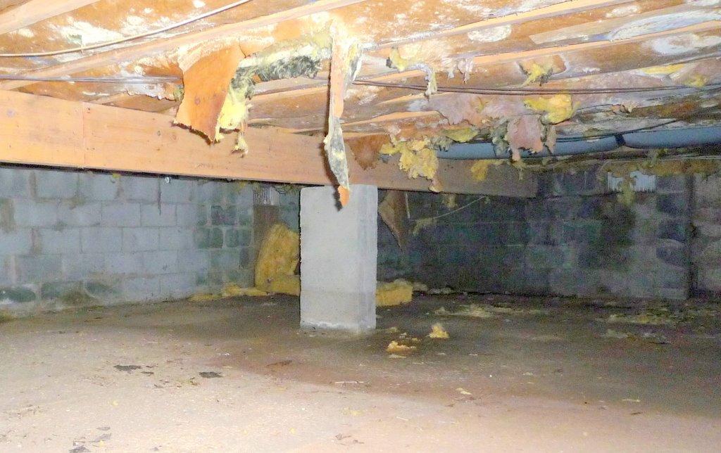 More Band Aids U003d More Problems U2013 Insulated Crawlspace Ceilings