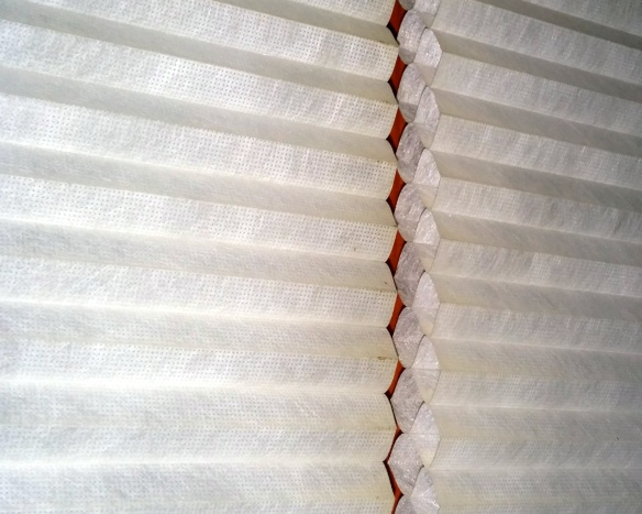 Reduce heat loss by up to 75% using cellular shades