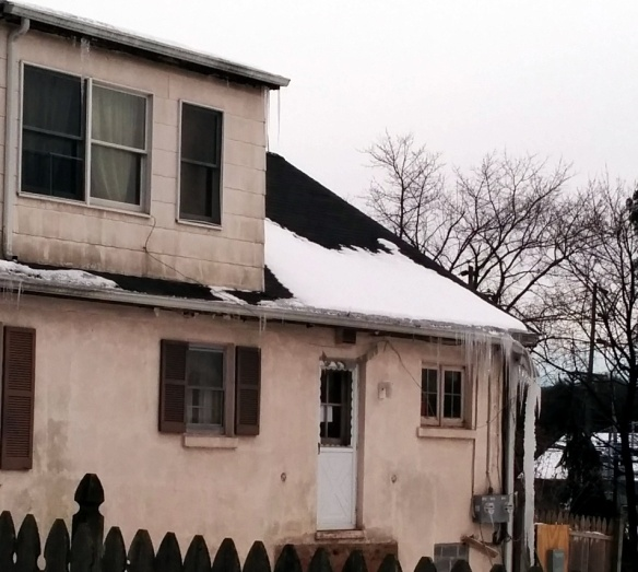 Icicles can do real damage to your home