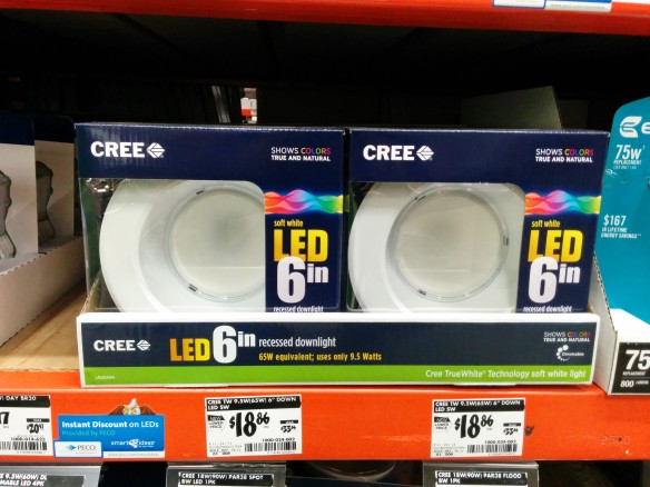 CREE LEDs for Recessed Light Fixtures