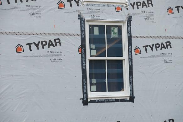 Proper flashing detail around a window