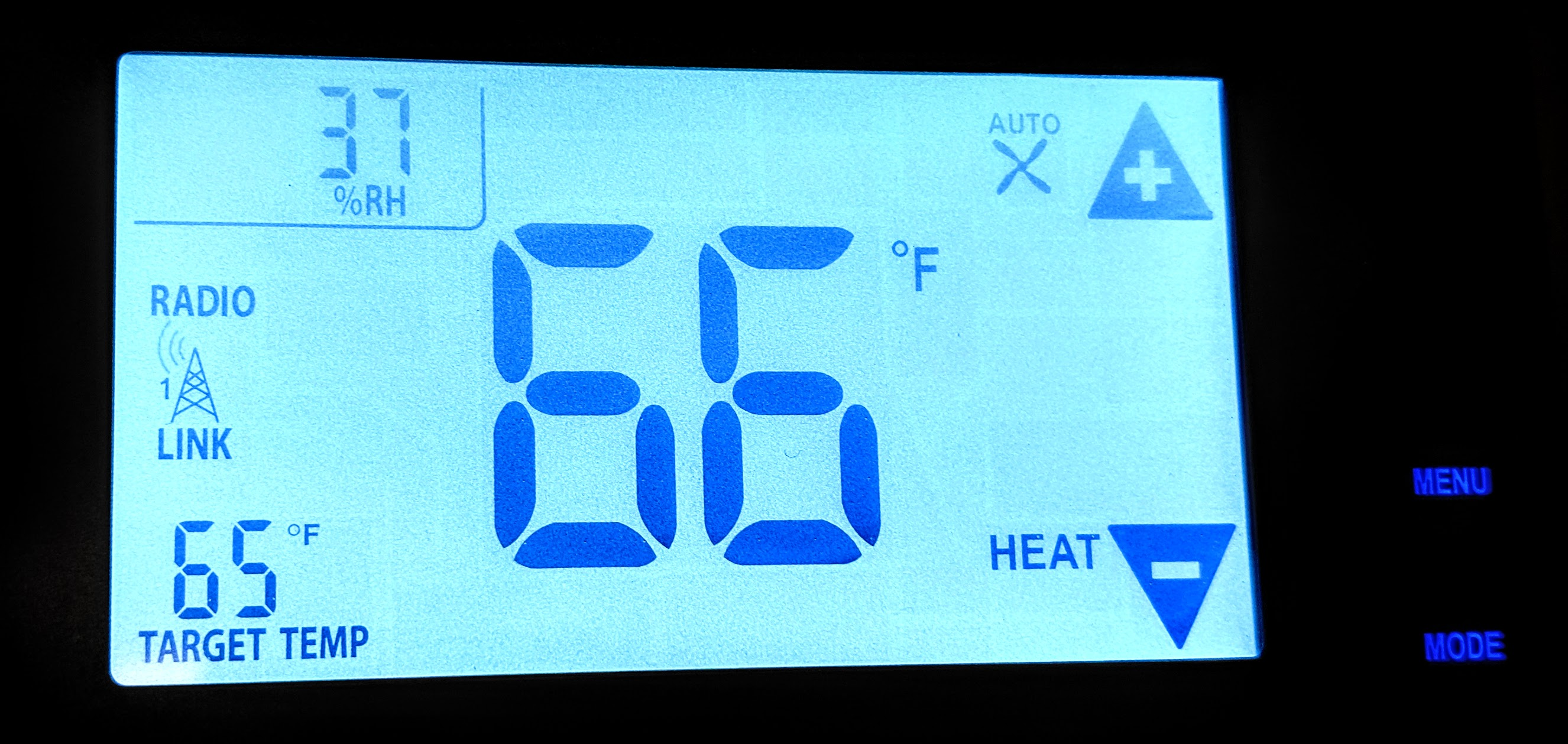 Smart Thermostat with Relative Humidity
